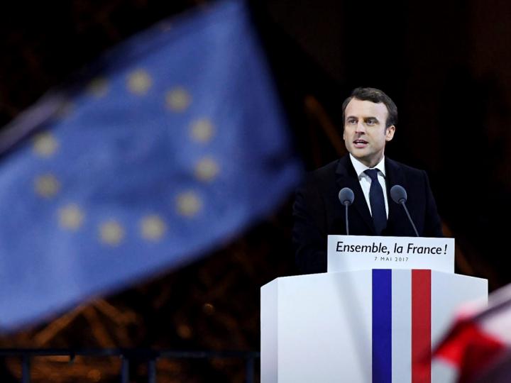 "CONREN Makro-Kolumne:  Macron befreit die Märkte Europas (…dazu Exkurs ""BANKS & FANGS"")"