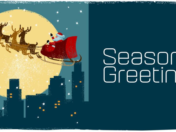 Weihnachtsgrüße & (Kurz)Markteinschätzung